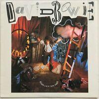 DAVID BOWIE Never Let Me Down 1987 OZ EMI EX/VG++