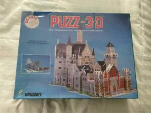 "NEW Wrebbit Puzz-3D Bavarian Castle 22""x16""x13"""