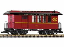 PIKO G SCALE C&S WOOD STYLE COMBINE | BN | 38645