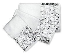 Popular Bath Sinatra White - 3-Piece Bathroom Pool, Hand, Wash Towel Set