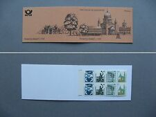 GERMANY BRD, booklet 1991 MNH, places of interestk