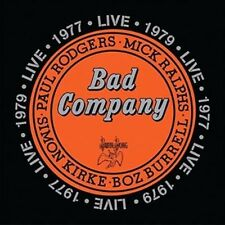 Live: 1977 & 1979 * by Bad Company (CD, Apr-2016, 2 Discs, Atlantic (Label))