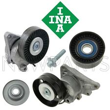 For Mercedes W215 W219 R230 Drive Belt Tensioner w/ Idler Pulley INA KIT