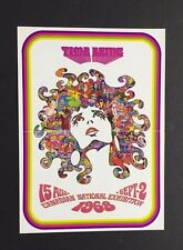 1968 Handbill CNE Scheduled Music Concerts Buddy Guy Moby Grape The Guess Who