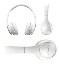 100% Genuine Samsung Level On Ear Wireless Headphones For Smartphones White NEW
