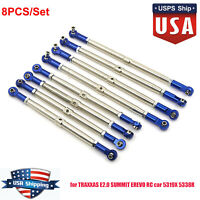Steel Rod End Push Rods 5319X 5338R for 1/10 TRAXXAS NEW E2.0 SUMMIT EREVO #USA