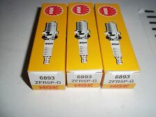 3 NGK ZFR5PG SparkPlugs  for VW Fox and Polo, Seat Ibiza, Skoda Fabia 1.2