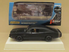 Pioneer 1969 Dodge Stealth Stage 2 426 Hemi Charger Matt Black Ltd 1:32 Slot Car