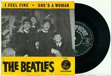"the BEATLES I Feel Fine / She's a Woman (DUTCH PS PARLOPHONE R 5200 EX VINYL 7"")"