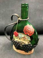 1964 Gebiets-Winzergenossenschaft Franken bottle with wrought iron decanter