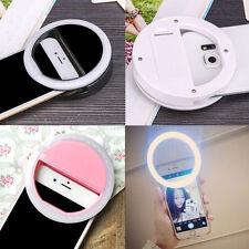 Selfie Anneau LED lumière pr Smartphone téléphone portable iPhone 6 6s Plus