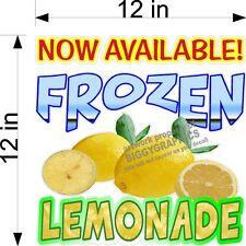 12 X 12 Vinyl Decal Frozen Lemonade Lemon New Design Now Available