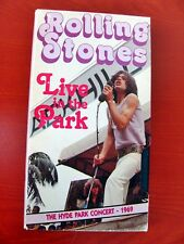 VHS.05) ROLLING STONES LIVE IN THE PARK (THE HIDE PARK CONCERT 1969)