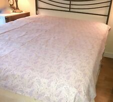 """Simply Shabby Chic Lavender Paisley Duvet Cover 66"""" x 86"""" Twin-Full Queen Cotton"""
