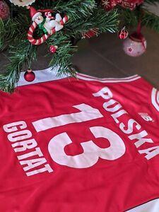 Gortat Poland New Balance Jersey Canotta Basket Euroleague FIBA NBA Euroleague