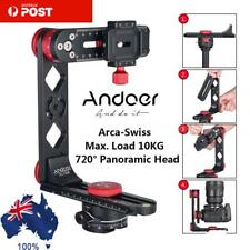 Andoer 720° Panoramic Aluminum Alloy Ball Head+QR Plate For Canon Nikon Sony SLR