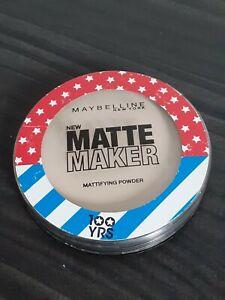 MAYBELLINE Matte Maker Mattifying Powder - 10 Classic Ivory 16g