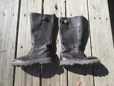 Mini Boden ~ Girls Dark Brown Tall Boots ~ Size 12 1/2 or 30