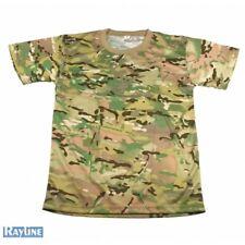 20x Rayline T-Shirt Outdoor Camouflage Jagd Tarnung Shirt 02 Einheitsgröße