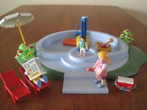 Playmobil Swimmingpool (3205) im Originalkarton