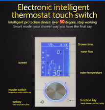 Digital Valve Shower Controller 3Way LED Touch Screen Control Thermostat Display