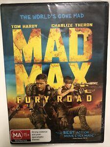 Mad Max Fury Road DVD Tom Hardy, Charlize Theron Region 4 Brand New Sealed