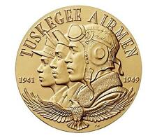 USA MEDAL BU TUSKEGEE AIRMAN 1.5 Inch,UNIQUE MILITARY RECORD,WHICH INSPIRED REVO