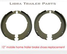 "new 12"" mobile home brake shoes kits (2 pairs) - 21032"