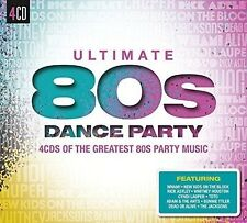 ULTIMATE...80S DANCE PARTY (PAUL YOUNG, WHITNEY HUSTON, WHAM!, ...)  4 CD NEU