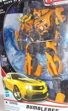 *AUTHENTIC* vs HK KNOCK OFF Transformers BUMBLEBEE Leader Class DOTM SHARP MISB
