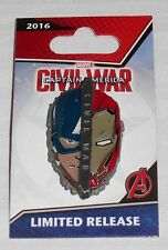 Disneyland DLR Marvel Captain America/Iron Man Civil War Opening Day Limited Pin