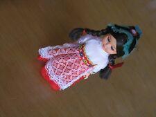 "Small Garmisch German Style Hard Plastic Girl Doll Hand Made Full Attite 6"""