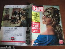 RIVISTA TEMPO 1958/41=BRIGITTE BARDOT=JACQUES PILLS=JULIETTE GRECO=STOMPANATO J.