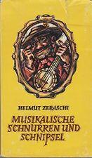 Musikalische Schnurren und Schnipsel (illustriert)   1980