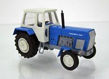 Busch 42800 HO (1/87): Traktor Fortschritt (wit-blauw)