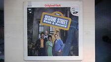 Columbia Records Original Cast THE SESAME STREET Book & Record LP 1970 + Poster
