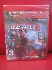 Uncharted 2: Among Thieves Greatest hits Edition Sony PlayStation 3 New Sealed