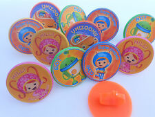 12 Team Umizoomi Rings cupcake toppers - birthday party favor pinata loot bag