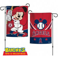 Disney Los Angeles Angels Mickey Mouse Garden Flag WINCRAFT MLB Baseball Halo's