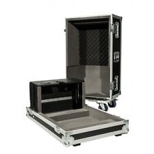 Flight Case for a Yamaha QL1 Digital Mixing Desk with Castors and Dogbox