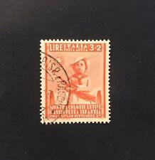 Posta Aerea  Sassone A104 Regno 1937 3l + 2l arancio Certificato Cilio