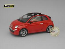 <p>Fiat 500C Red - Motorama - 1:24 - MO496042RE</p>