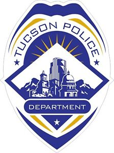 Tucson Police Department Decals / Stickers