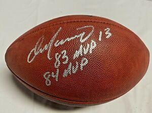 Miami Dolphins Dan Marino Signed MVP Wilson Duke Football Auto Fanatics