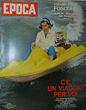 "EPOCA N°657/ 28/APR/1963 * UGO FOSCOLO * LA TRAGEDIA DEL "" THRESHER """