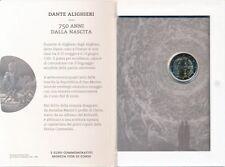 San Marino 2 € Euro GM 2015 750. Geburtstag Dante Alighieri Stgl./BU im Folder