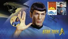 Perth Mint Star Trek 50th Anniversary Enterprise+Spock Coin & Stamp Collection