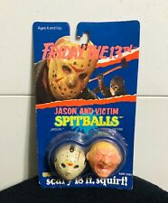 JASON FRIDAY the 13th Jason And Victim SpitBalls 1989 NEW
