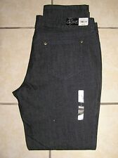 NWT $38 City Streets Low Rise Straight CutStretch  Rinsed Denim Jean Sz 17