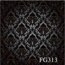 Damask Vinyl background Photography studio Photo Props backdrop 5X7FT FG313